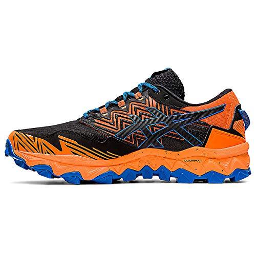 Asics Gel-Fujitrabuco 8 G-TX, Running Shoe Homme, Rose Shocking Orange/Sheet Rock, 46 EU