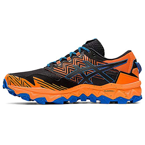 Asics Herren Gel-Fujitrabuco 8 G-TX Laufschuhe, Shocking Orange/Sheet Rock, 43.5 EU