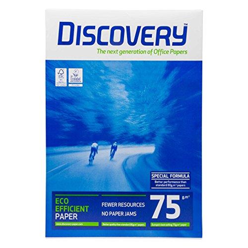 Discovery DIS-75-A3 - Papel para fotocopiadora, A3