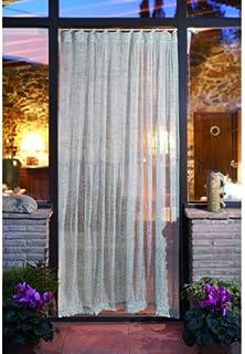 NAUTICALMANIA Cortina Red de Pescador Decorativa 210x120x0.