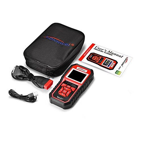 Lovelysunshiny KONNWEI KW850 OBDII EOBD Auto scanner diagnostico per auto scanner lettore di codici