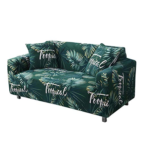 Yunchengyunxiangtong Stretch Couch All-Inclusive-Universal-Abdeckungs-Leder-Sofa-Abdeckung Full Cover Tuch gedruckt Stretch Faule Sofa-Abdeckung (Size : Quadruple)