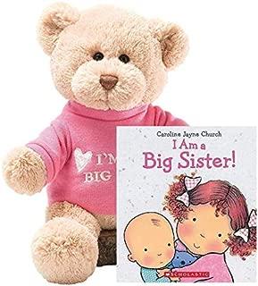 "GUND T-Shirt Teddy Bear Stuffed Animal Plush 12"" (Big Sister Gift Set)"