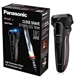Panasonic ES-LL21-K503SH Rasoio Elettrico per Barba Wet&Dry, regolabarba, ricaricabile, Senza Fili, 3...