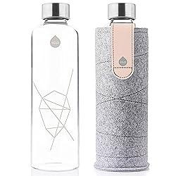 EQUA Erwachsene Mismatch 750 ml Trinkflasche, Pink Breeze, S