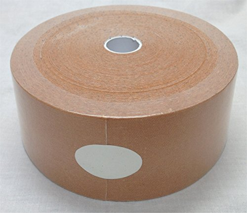 "Therapist's Choice® Extra Wide Kinesiology Tape 3""x105' Bulk Roll (Beige)"