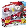 Pokémon 95283S Pokemon-Clip N Go Poke - Juego de cinturón para Pelotas de Wicked Cool