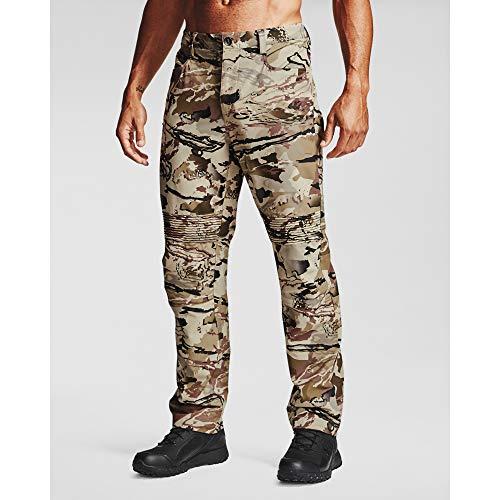 Under Armour mens Backwoods Straight Leg Pants , Ua Barren Camo (999)/Black , 34W x 30L