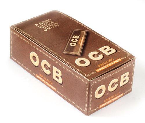 OCB 15436 - Papel de fumar, 50 cajas x 50 hojas