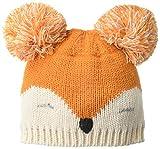 Mud Pie Baby Fox Knit HAT, Brown, 2T-5T