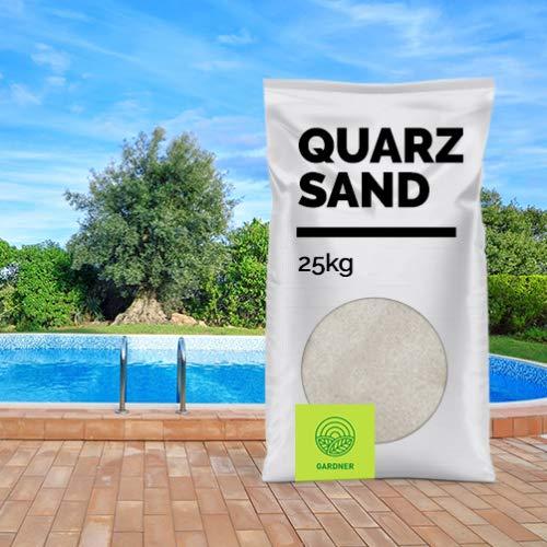 Filtersand - der Standard für Sandfilteranlagen von Pools und Aquarien, im praktischen BigBag 1000-5000 kg - versandkostenfrei