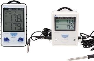 シンワ測定(Shinwa Sokutei) ワイヤレス温度計 A 最高・最低 隔測式ツインブローブ防水型 73241