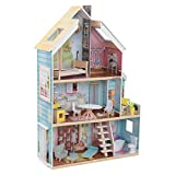 KidKraft Zoey Magic Lights & Sounds Dollhouse with Ez Kraft Assembly, Multi