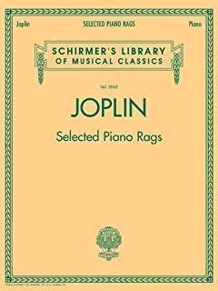 Selected Piano Rags: Schirmer Library of Classics Volume 2062