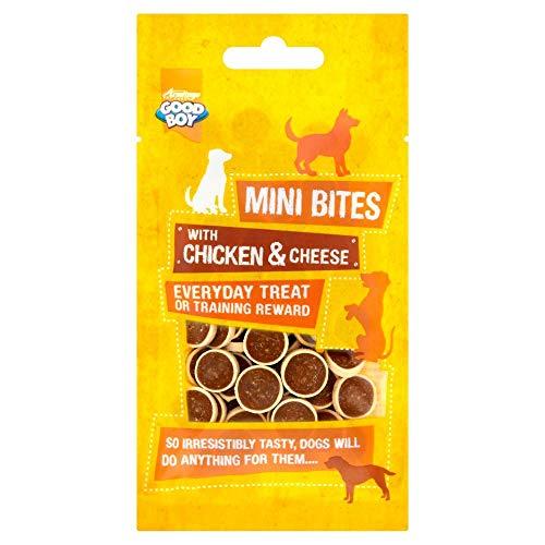 Good Boy Mini Bites 70g (Flavour: Chicken & Cheese)