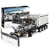 Nlne Technic Juego De Construccin De Camiones Quitanieves, Juego De Construccin De Camiones Quitanieves City, Bloques De 1694 Piezas Compatibles con Lego Technic