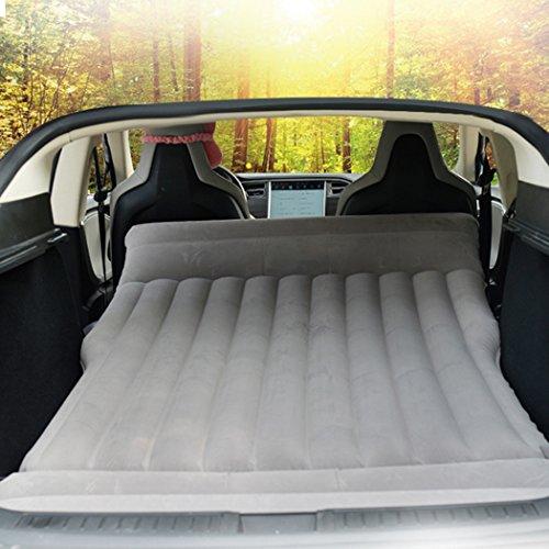TeslaWorld Luftmatratze fürs Auto, aufblasbar, für Camping und Reisen, passend für Modell S und Modell X 5-Sitzer