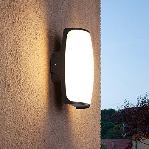 LED Mur Lumière Étanche Porte Avant Chevet Chambre Hall D'entrée Salon Entrée Balcon Hôtel Jardin Décor En Aluminium Applique 12W
