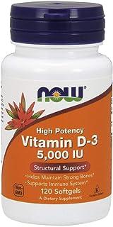 Now Foods Vitamin D3 5000 IU Softgels