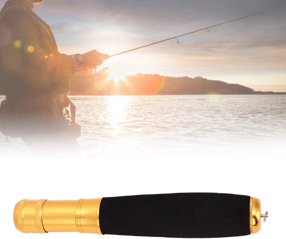Ca/ña de Pescar Mango Aleaci/ón de Aluminio multifunci/ón Pesca EVA Ca/ña Mango Agarre para Varillas de Bricolaje Cambiar