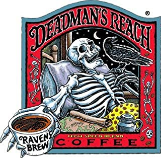 Raven's Brew Auto Drip Grind Deadman's Reach Organic Version, Dark Roast 5-Pound Bag