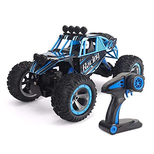 OUUED Rock Crawler radiografisch bestuurbare auto Alloy Material Remote speelgoed beste gaven Controle vierwielaandrijving off-road voertuig Climbing Bigfoot RC Truck 2,4 GHz High-speed Big Boy Girl k