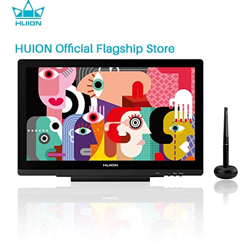 HUION Drawing Monitor GT-191 V2 Pen Display with HD Screen eco-Friendly Battery-Free Stylus 8192 Pen Pressure 19.5 Inch