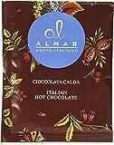 Almar Cioccolata Calda Cortina Monoporzione 15x30g - gusto BIANCA ALLA NOCCIOLA