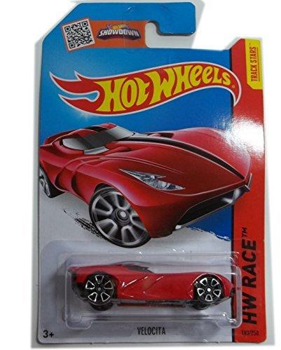 Hot Wheels, 2015 HW Race, Velocita [Red] Die-Cast Vehicle #183/250 by Mattel