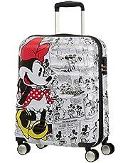 American Tourister Disney Wavebreaker - Maleta Infantil, Spinner S (55 cm - 36 L ), Multicolor (Minnie Comics White)