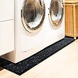 Floordirekt PRO Antivibration Schutzmatte - Gummigranulat - 60x60x2cm - für alle Böden und viele Anwendungsbereiche - 3