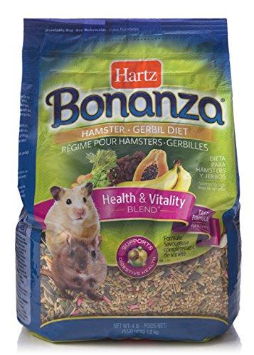 Hartz Bonanza Health & Vitality Blend Hamster Food