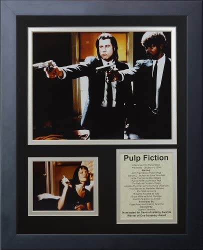 Pulp Fiction 11 x 14 Framed Photo Collage by Legends Never Die Inc product image
