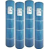 4 Guardian Antimicrobial Pool Spa Filter Replaces UNICEL C-7494 Hayward Swimclear Cx1280re C5025 PA131, Filbur FC-1227 Microban