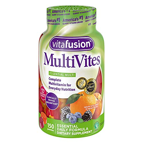 Vitafusion MultiVites Adult's Chewable Gummy Multivitamin Dietary Supplement - 3 Pack
