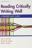 Reading Critically, Writing Well 12e & Documenting Sources in APA Style: 2020 Update