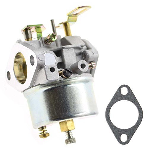AUTOKAY Adjustable Carburetor for Tecumseh 8HP 9HP 10HP Snowblower Re#640349 640052 640054 640058 640058A