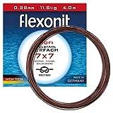 Flexonit Stahlvorfach Angeln Meterware - 1x7 4m 0,21mm 4,1kg