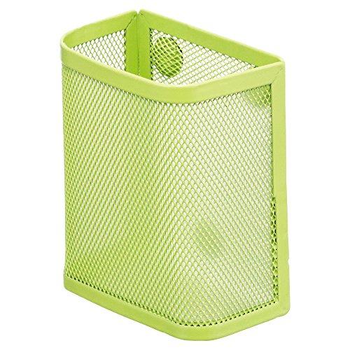 リヒトラブ マグネットポケット ペンスタンド 黄緑 A7390-6