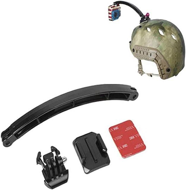 PROtastic Casco con PROtastic 20 cm brazo de extensión compatible con montaje del casco de Gopro Hero SJCAM/cámaras de acción