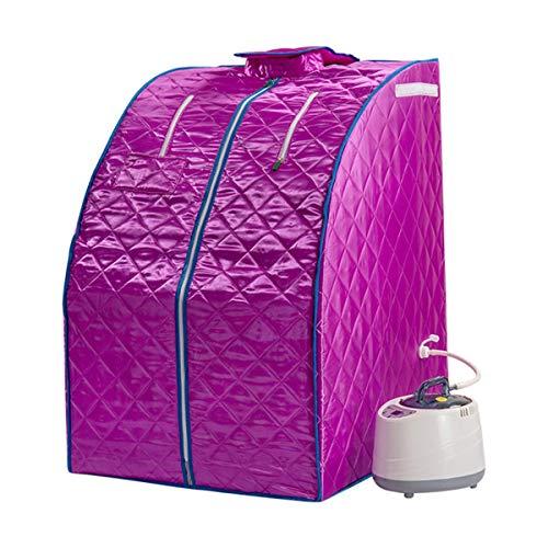 CMmin Sauna Portatil SPA en el Hogar Sauna de Vapor Personal Home Steam Sauna SPA Pérdida de Peso Peso Adelgazante Desintoxicación de Cuidado de la Piel fácil de Llevar 220V