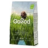 Goood Mini Junior 60860 – Cordero y trucha sostenible – Pienso seco para cachorros y perros jóvenes – 1,8 kg