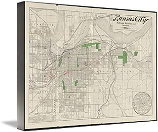 Best kansas city map art Reviews