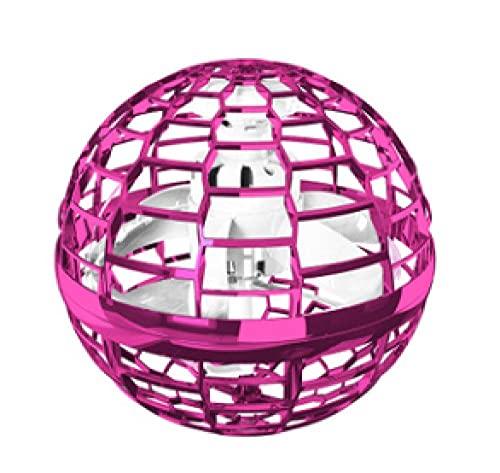 Bola voladora Bola voladora mágica Juguete de descompresión Ruta libre Inducción giratoria Vuelo con la punta del dedo Top 6 años o más-rosado