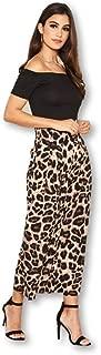 AX Paris Women's 2 in 1 Leopard Print Jumpsuit