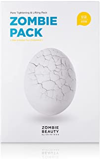 ZOMBIE BEAUTY Zombie Pack (Set Of 8 Facial Treatments) - (Renewal) Special Facial Mask For Sebum Controlling, Pore-Tighten...