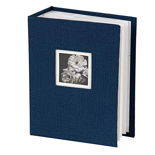 Dörr Unitex Fotoalbum für 100 Fotos in 10x15 cm Einsteck Foto Album Memoalbum: Farbe: Blau