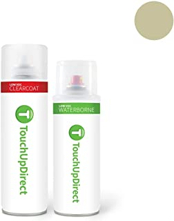 TouchUpDirect for Volkswagen Exact Match Automotive Touch Up Paint - White Gold Metallic (LR7L/7B)