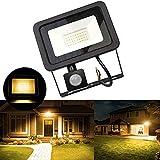 JFFFFWI Luces de Seguridad con Sensor de Movimiento, Reflector...