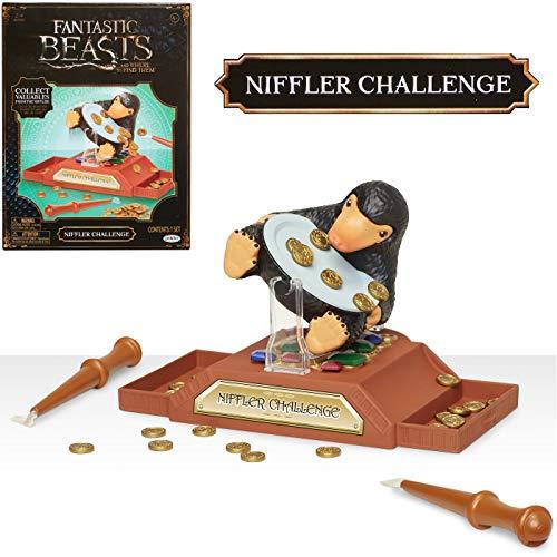 Jakks Pacific 39895 Harry Potter Wizarding World Niffler Challenge Spiel, schwarz